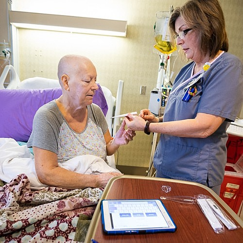 Touching Base Daily Helps BMT Patients Recover More Quickly