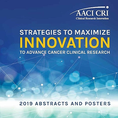 2019 CRI Abstracts and Posters Now Available