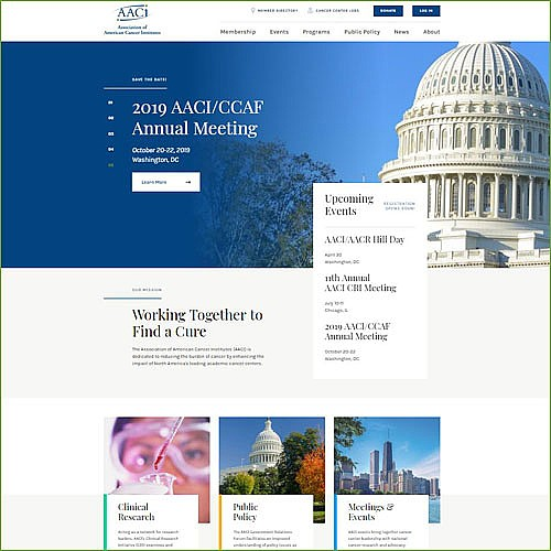 AACI Debuts New Website