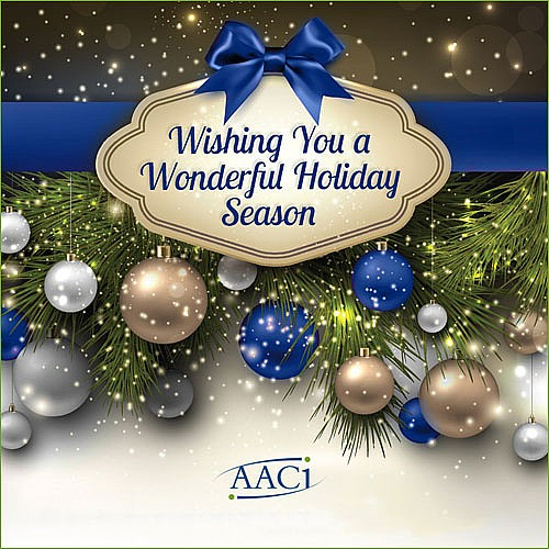 Winter Break for AACI Update
